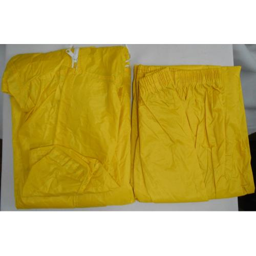 Yellow Rubberized Rain suits