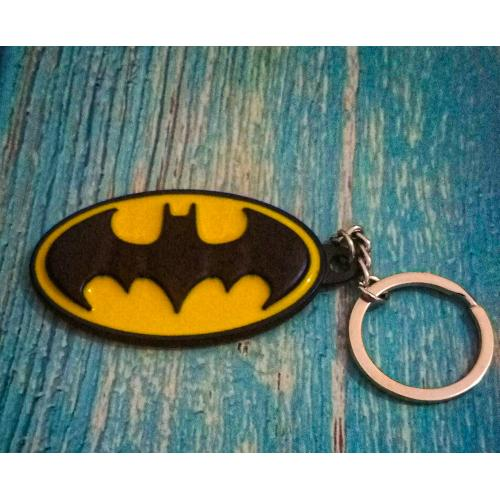 Superhero Themed Keyrings