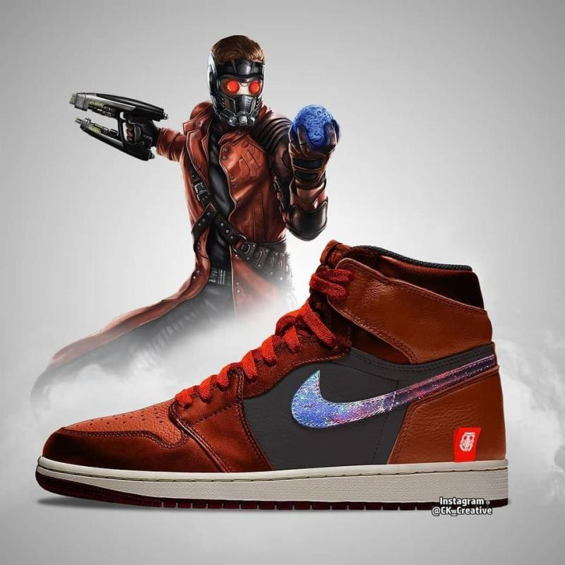 Star Lord - Avengers Sneakers
