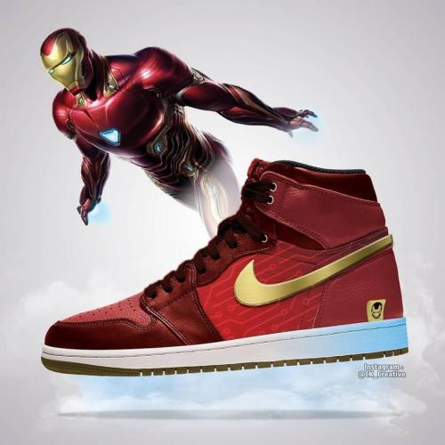 Iron Man - Avengers Sneakers