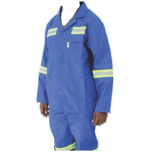 Royal Blue 2pc reflective Worksuits